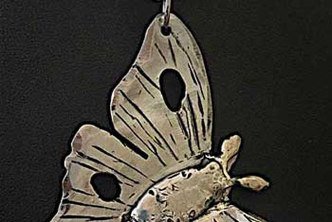 Luna Moth One Pendant